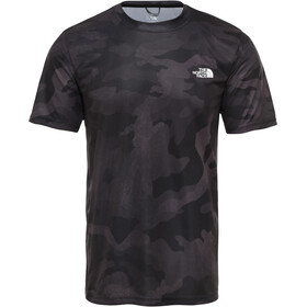 The North Face Reaxion Amp Crew T-Shirt Homme, tnf black waxed camo print